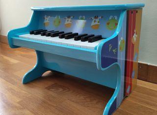 Piano infantil de madera (25 teclas)