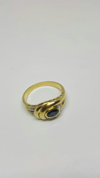 anillos de oro y brillantes