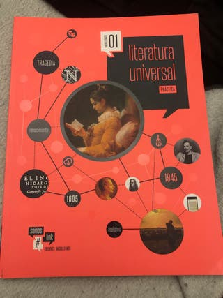 Libro 1bachillerato literatura universal edelvives