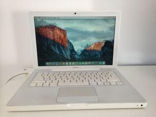 """Macbook 13"""" blanco finales 2009"""