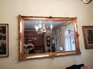 Espejo grande de segunda mano en madrid en wallapop - Espejos grandes segunda mano ...