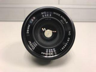 Objetivo nikon Vivitar 28mm 2.8