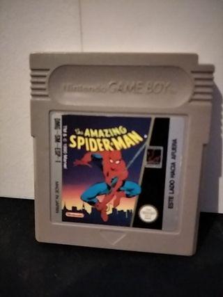 amazing spiderman gameboy