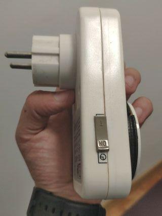 Temporizador analógico con enchufe tipo F