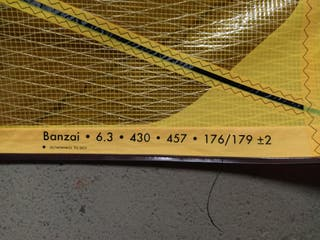 Vendo vela windsurf Goya Banzai 6,3