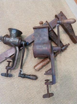 objetos de decoración antiguos