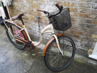 adult bike with basket