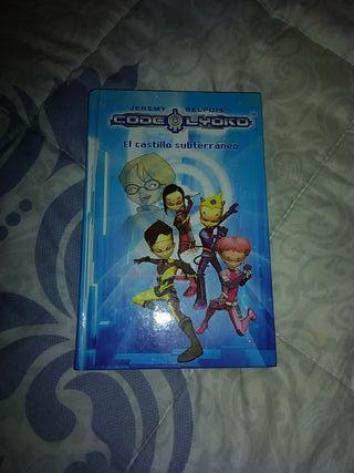libro code lyoko el castillo subterráneo