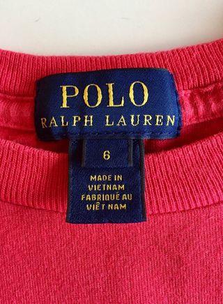 Camiseta Ralph Lauren niño/niña