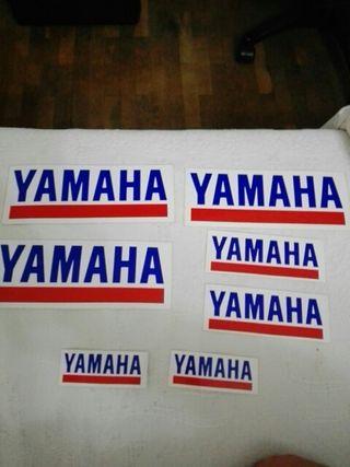 Yamaha pegatinas originales años 90