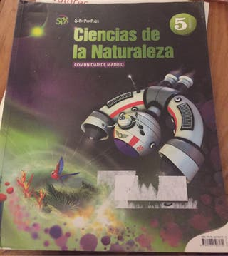 Libro ciencías de la naturaleza 5 primaria
