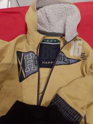 pack chaqueta y forro polar 3 años