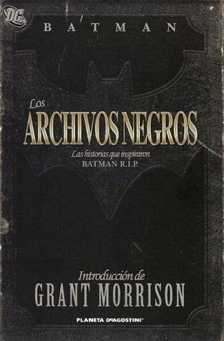 ARCHIVOS NEGROS BATMAN PLANETADEAGOSTINI