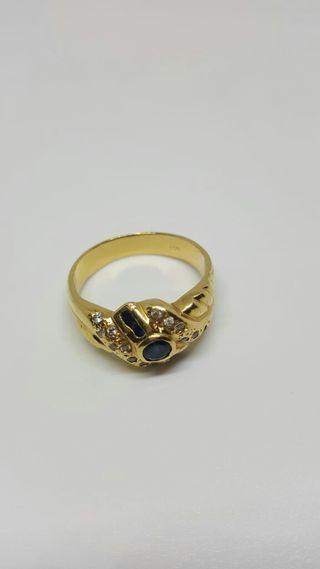 anillo de oro 18k