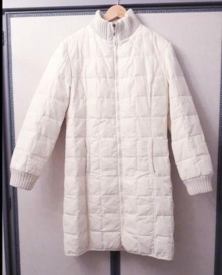 Liz Claiborne abrigo pluma oca auténtica talla S/M