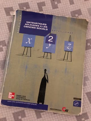Libro matemáticas bachillerato social