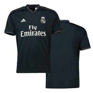 camiseta negra real Madrid