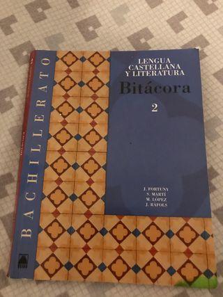 Libro de castellano bachillerato