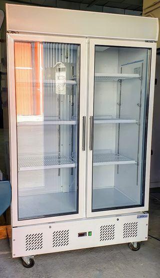 Armario expositor refrigerada 2 puertas