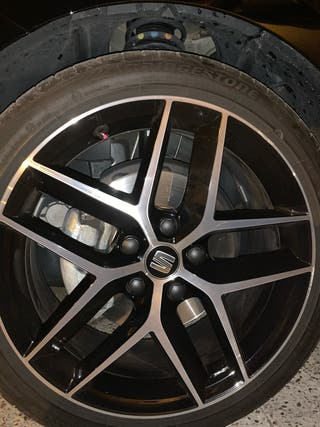 Vendo llantas machined de 18 de SEAT leon fr 2018