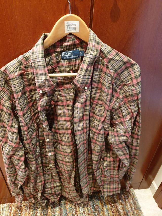camisa cuadros Rslph lauren
