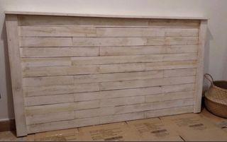 CABECERO NUEVO MADERA RUSTICO, madera de palets