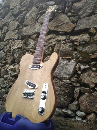 """Telecaster """"Telucaster"""" Luthier Vieites"""