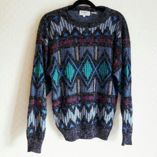 Early 80's Vintage japanese Sweater..