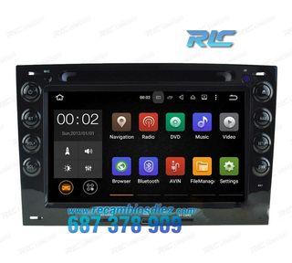 RADIO NAVEGADOR GPS DVD 7 ANDROID 5,1 RENAULT MEG