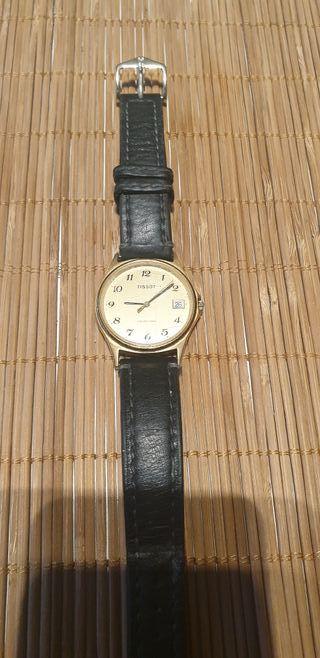 reloj tissot baño oro modelo seastar
