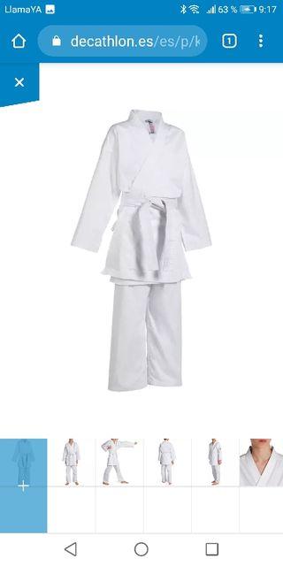 Chaqueta kimono de Karate niño 140cm
