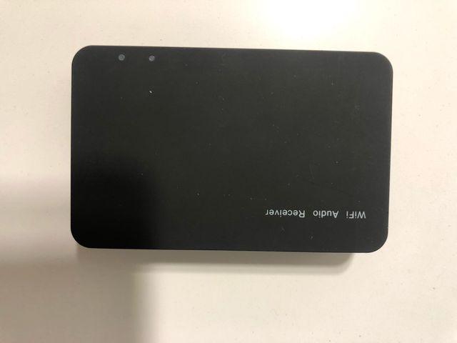 Receptor wifi y audio