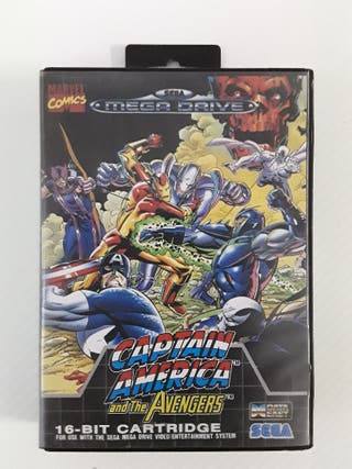 CAPTAIN AMERICA AND THE AVENGERS SEGA MEGADRIVE