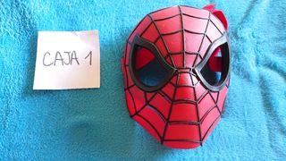 máscara spiderman buena calidad