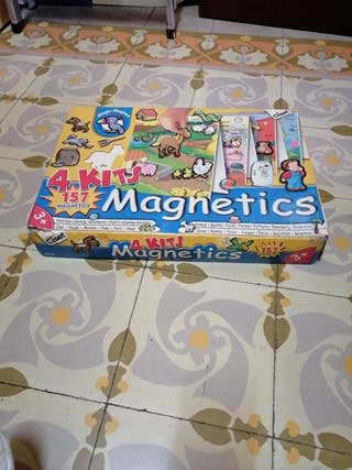4 Kits Magnetics jugete