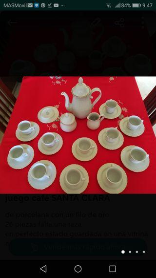 Juego café SANTA CLARA