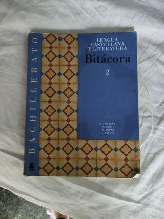 Lengua castellana y literatura Bitácora