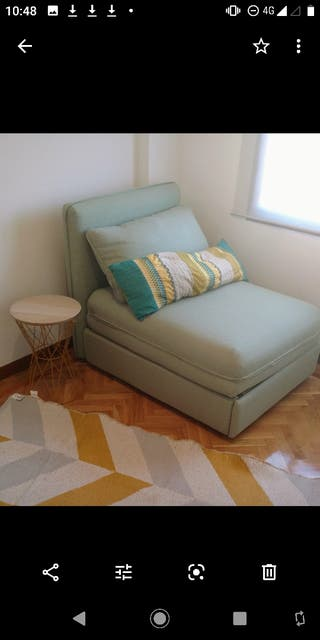 Sofá cama modular Ikea