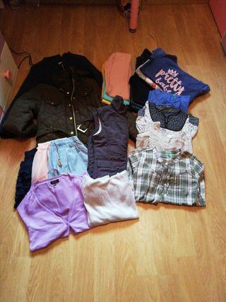 super lote ropa invierno niña 11-12