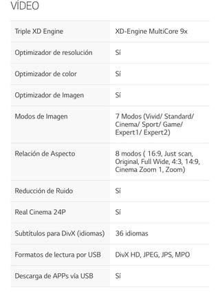 Tv lg 3D