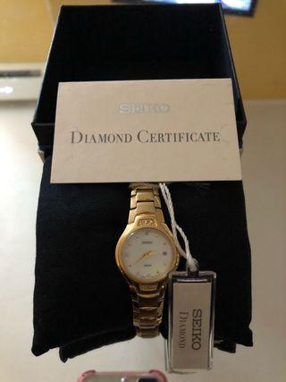 Reloj de mujer Seiko Diamond