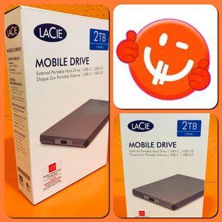 Disco Duro Lacie Mobile Drive 2TB