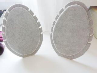 2 Expositor de collar grises