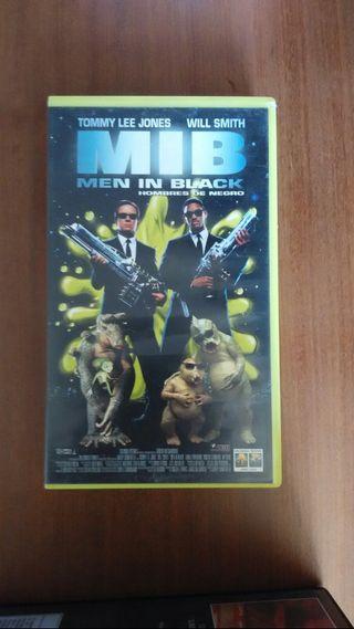 peliculas de video VHS Men in Black