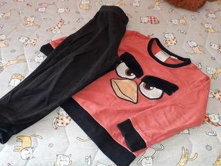 pijama angrybirds