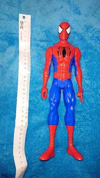 spiderman articulado como nuevo