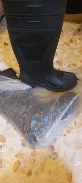 botas de agua seguridad