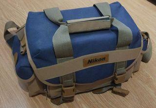 Bolso cámara réflex Nikon