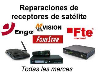 reparación decodificador satelite
