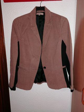 chaqueta bicolor